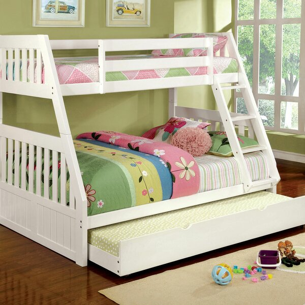 Fortuna Twin over Full Bunk Bed by Harriet Bee