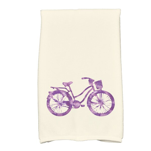 Golden Beach Life Cycle Transportation Print Hand Towel by Bay Isle Home
