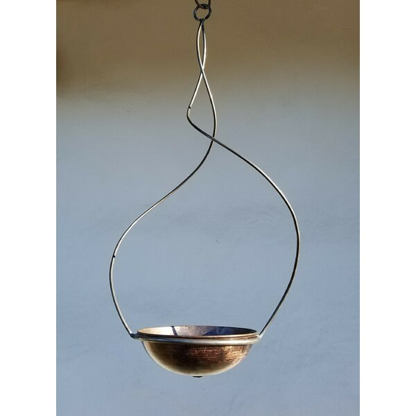 Handmade Swirl Frame and Hanging Planter by Starlite Garden and Patio Torche Co.