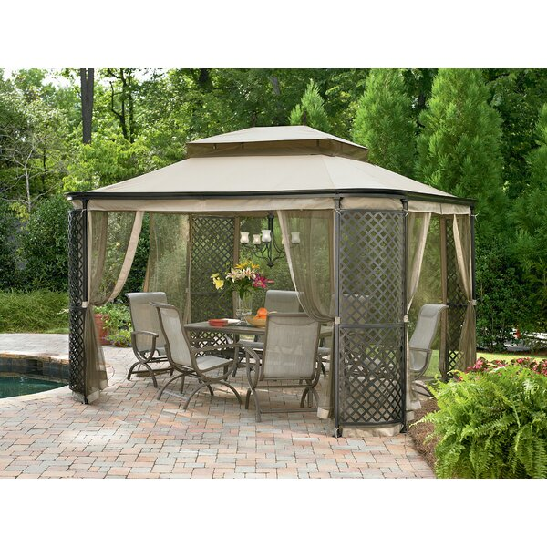 Replacement Canopy (Deluxe) for Lattice Panel Gazebo by Sunjoy