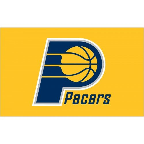 NBA Indiana Pacers Polyester 3 x 5 ft. Flag by NeoPlex