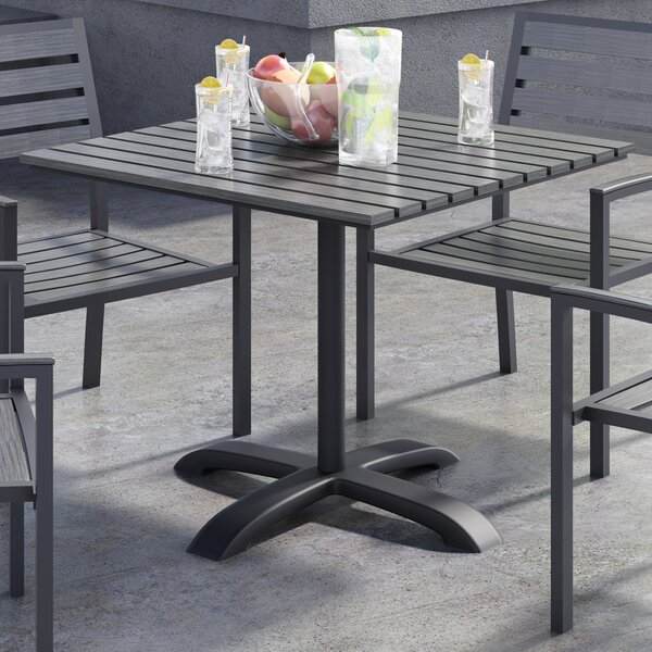 Eveleen 32 L x 32 W Square Table by KFI Seating