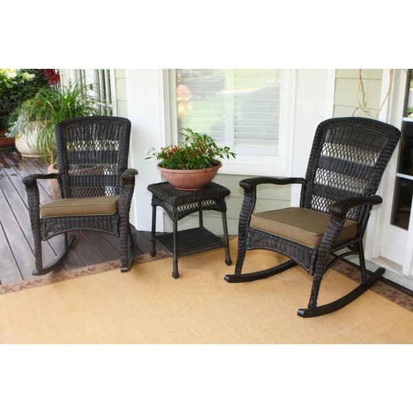 Ray 3 Piece Conversation Set with Cushions by Alcott Hill