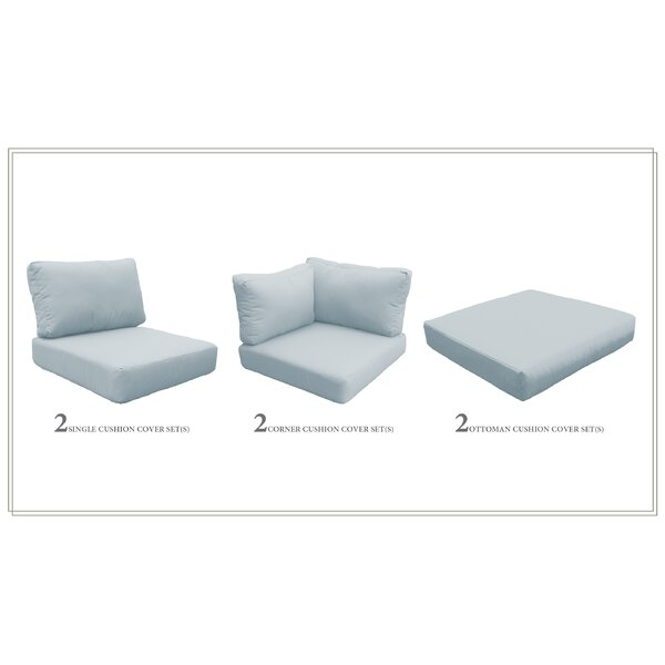 Waterbury 12 Piece Indoor/Outdoor Seat/Back Cushion Set By Sol 72 Outdoor