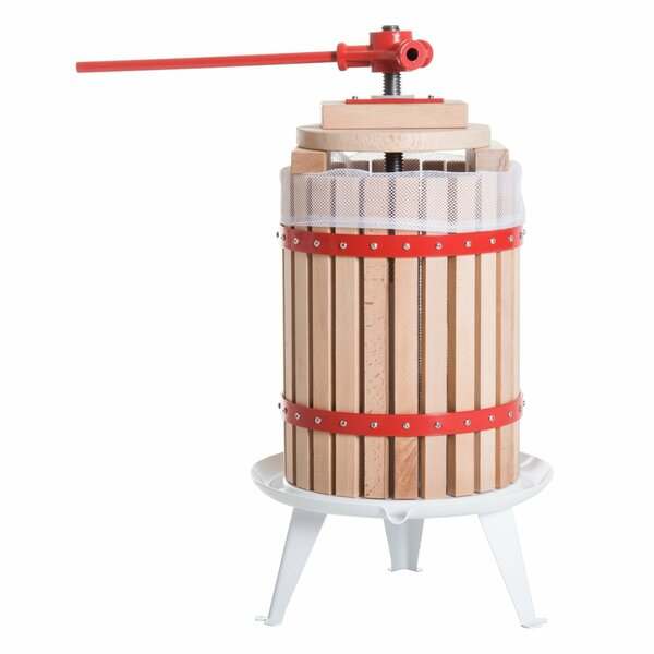 Cold Press Wooden Manual Juicer by HomCom