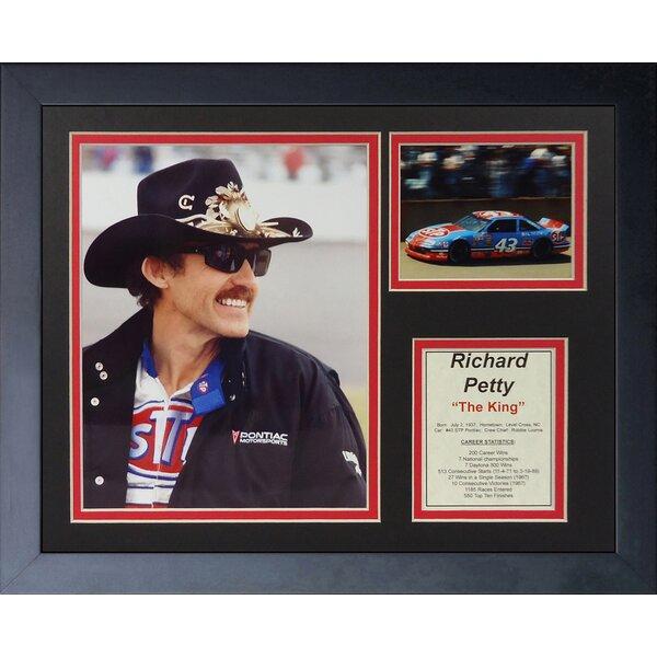 Richard Petty Framed Memorabilia by Legends Never Die