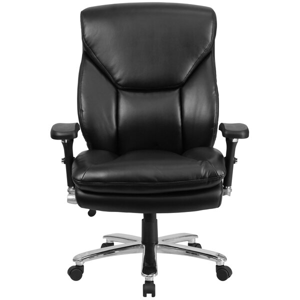 Pyron Leather Executive Chair by Latitude Run