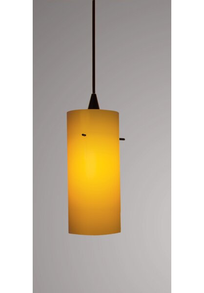 Dax Track 1-Light Cylinder Pendant by WAC Lighting