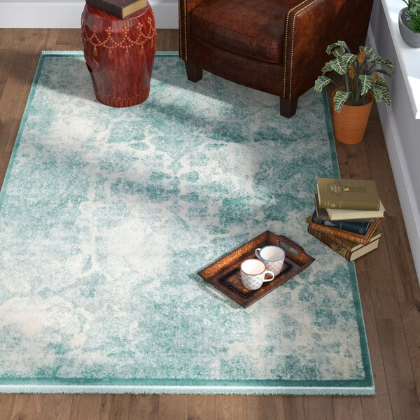 Jacobson Blue Area Rug by World Menagerie