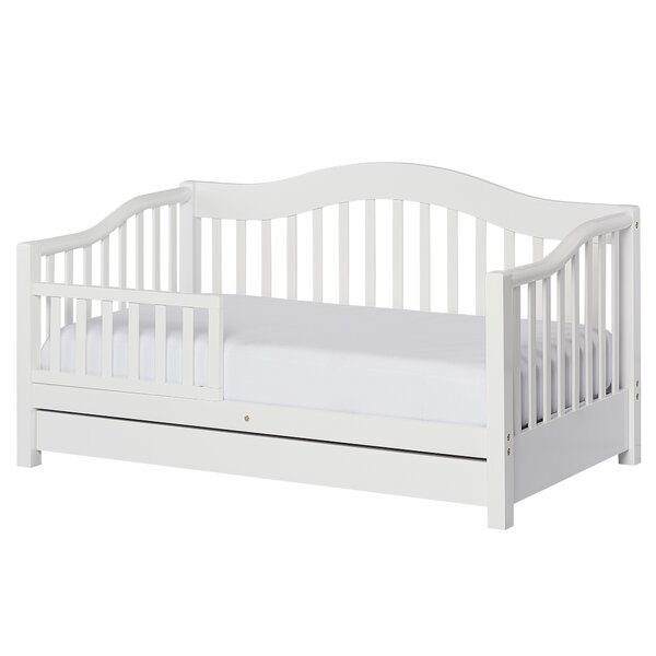 Clarkson Convertible Toddler Bed with Storage by Harriet Bee
