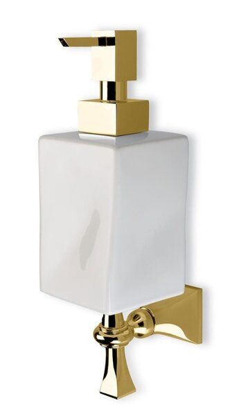 Prisma Wall Mounted Classic Ceramic Soap Dispenser by Stilhaus by Nameeks