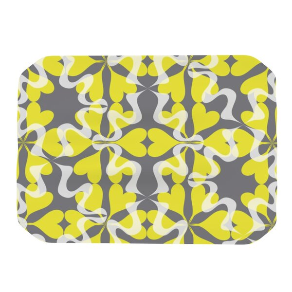 Flowering Hearts Placemat by KESS InHouse