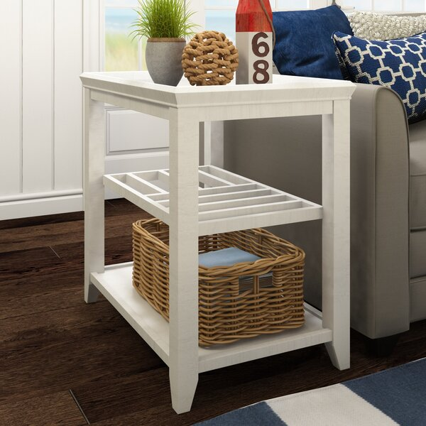 Cliffside Chairside Table by Beachcrest Home