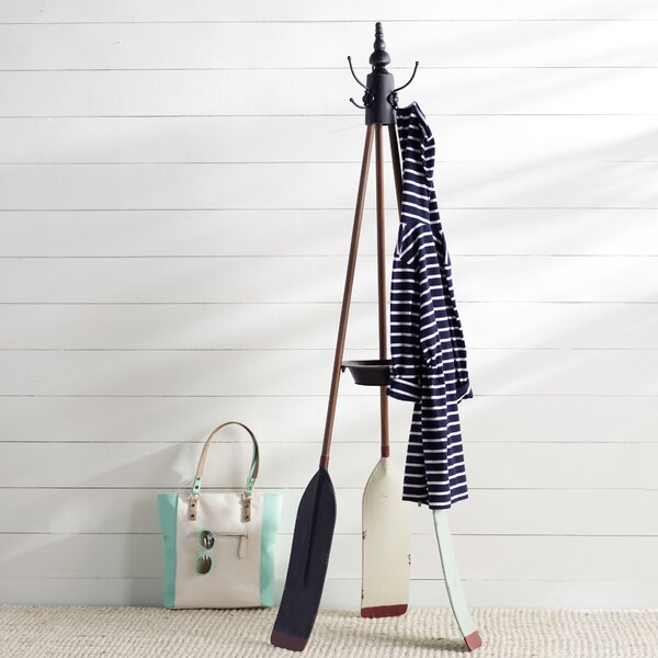 Dockside Oar Coat Rack by Beachcrest Home