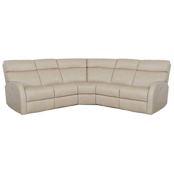 Clemens Leather Reclining Sectional by Bernhardt