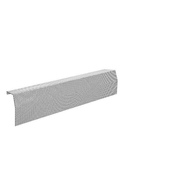 Premium Series Galvanized Steel Easy Slip-On Baseboard Heater Cover By Baseboarders