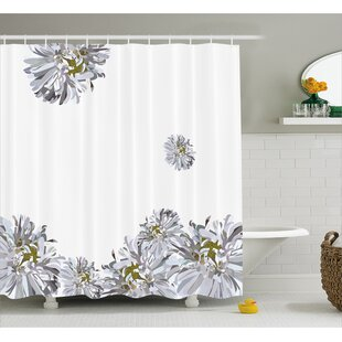 Looking for Flourishing Summer Fusion Poppy Chamomile Purity Icons of Habitat Art Shower Curtain Set By East Urban Home