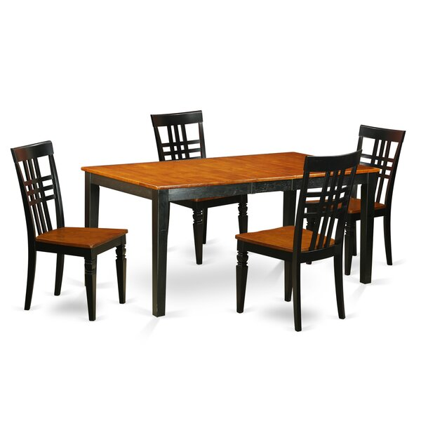 Soileau 5 Piece Dining Set by Charlton Home Charlton Home