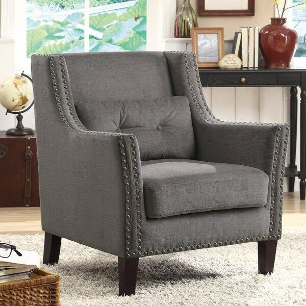 Kepler Wingback Chair by Alcott Hill