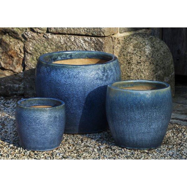 Isidro 3-Piece Terracotta Pot Planter by One Allium Way