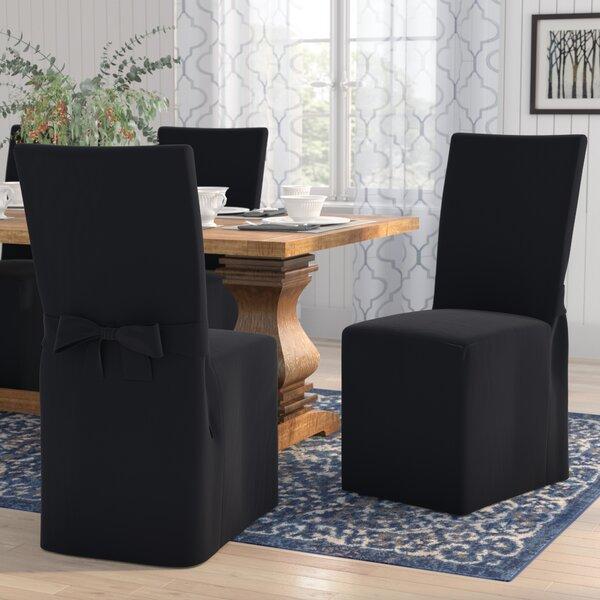 Box Cushion Dining Chair Slipcover By Charlton Home