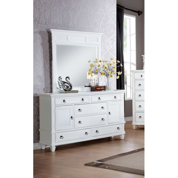 Clearwater 6 Drawer Combo Dresser by Red Barrel Studio