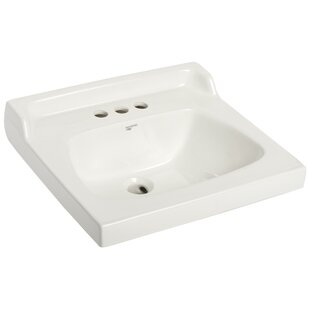 Reviews City I Vitreous China Rectangular Drop-In Bathroom Sink with Overflow ByMansfield Plumbing Products
