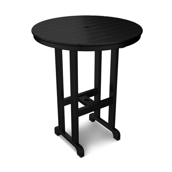 Round Outdoor Bar Table by POLYWOOD®