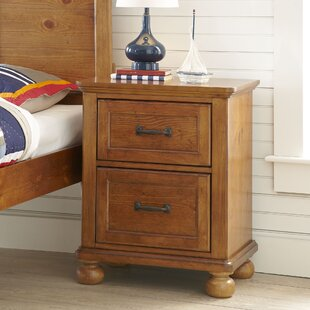 Best Reviews Camryn 2 Drawer Nightstand By LC Kids