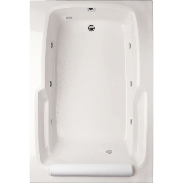 Designer Duo 66 x 42 Soaking Bathtub by Hydro Systems