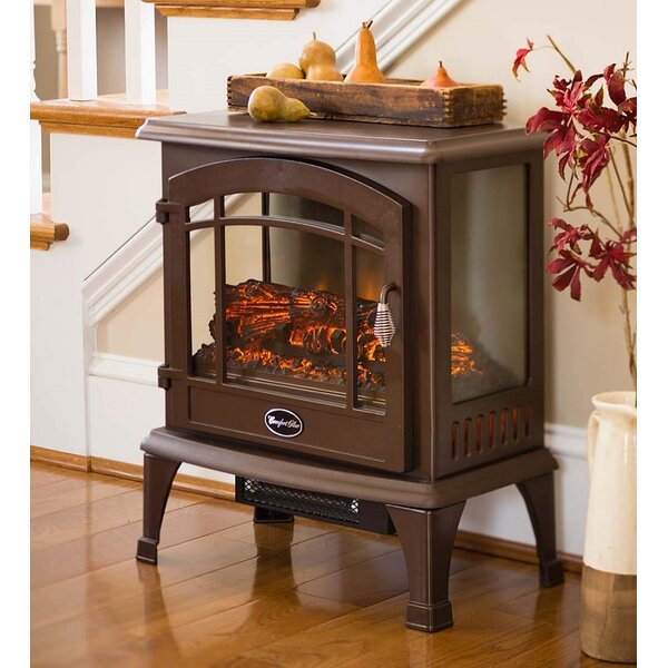 Infrared Quartz 750 sq. ft. Vent Free Electric Stove by World Marketing