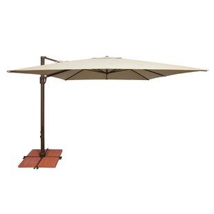 Bali 10' Square Cantilever Umbrella bySimplyShade