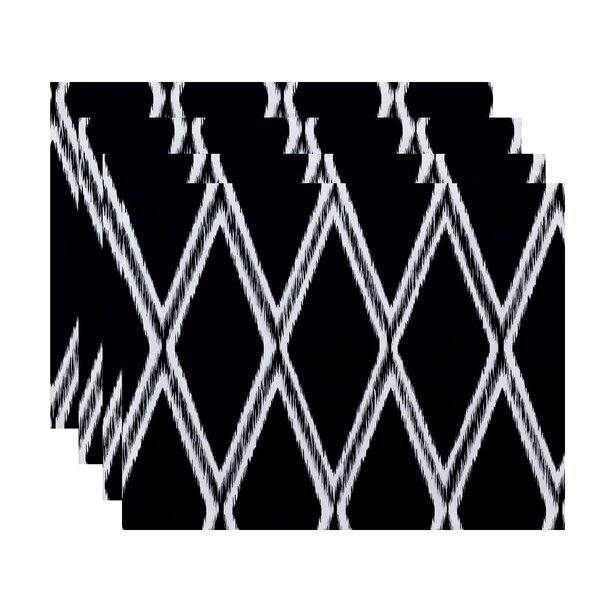 Emmanuelle Geometric Placemat (Set of 4) by Ivy Bronx