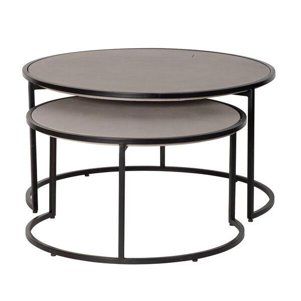 Estral 2 Piece Coffee Table Set By Ebern Designs