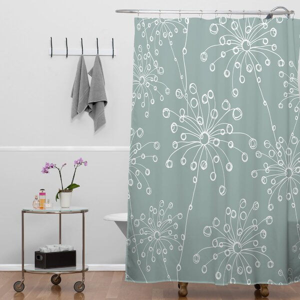 Rachael Taylor Quirky Motifs Shower Curtain by Deny Designs