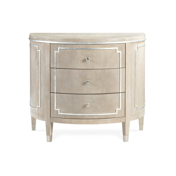 Whyte 3 Drawer Hall Chest by House of Hampton