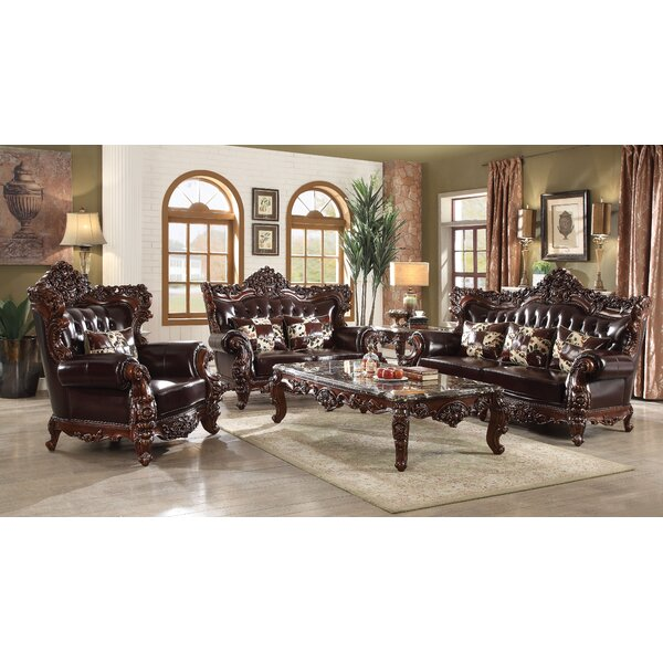 Keagan Configurable Living Room Set by Astoria Grand