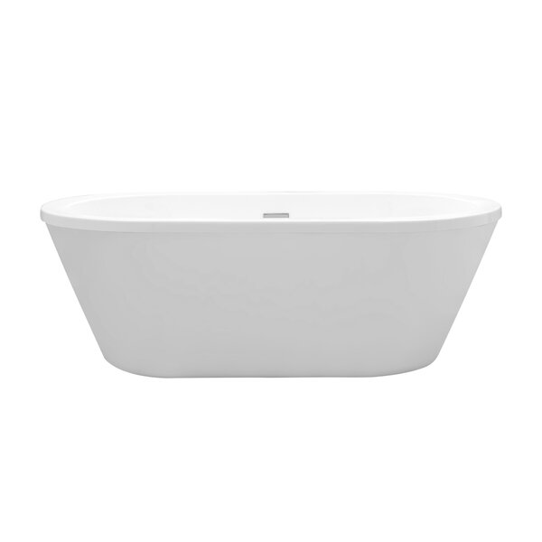 Virgo 63 x 33 Freestanding Soaking Bathtub by Cahaba