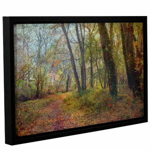 'Poetic Season'  Framed Photographic Print On Wrppaed Canvas by Charlton Home