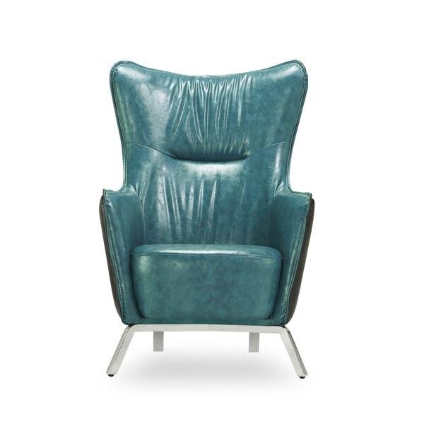 Alisa Wingback Chair by Latitude Run
