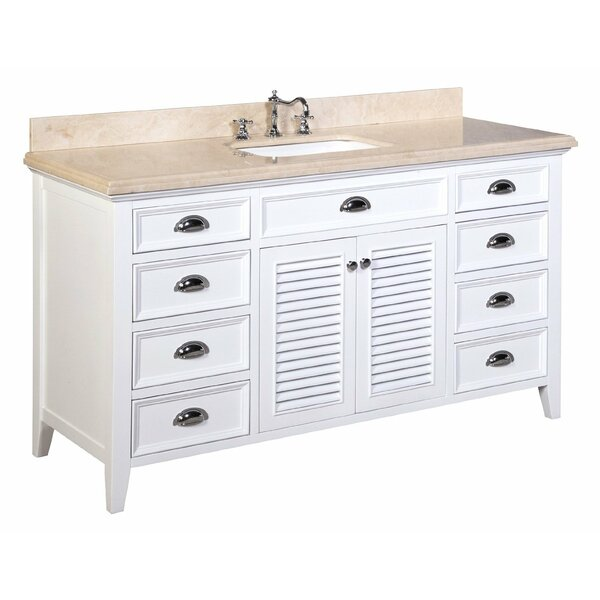 Savannah 60 Single Bathroom Vanity Set by Kitchen Bath Collection