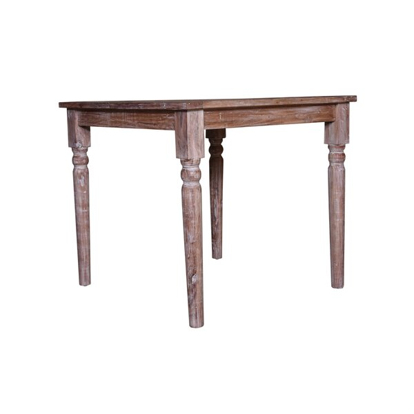 Jeff Solid Wood Dining Table by Longshore Tides