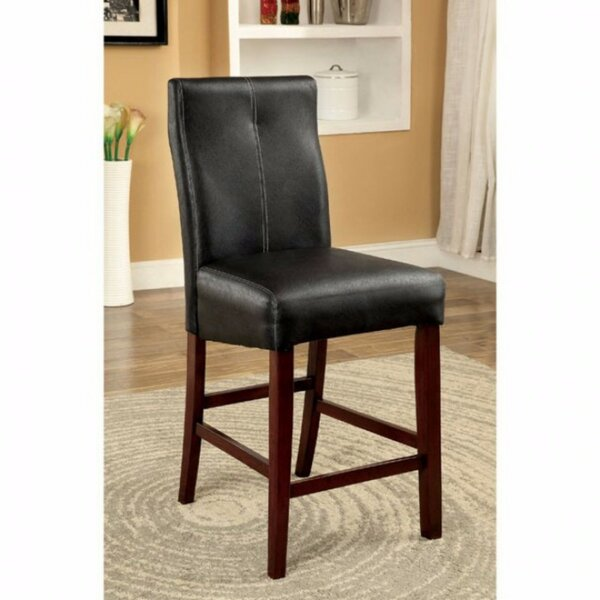 Weronika Contemporary Leather Upholstered Dining Chair (Set of 2) by Red Barrel Studio