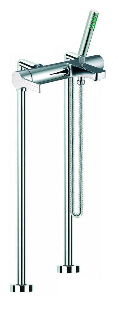 Fima By Nameeks Matrix Single Handle Floor Mounted Clawfoot Tub Faucet Trim With Diverter And Handshower Wayfair