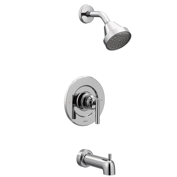 Gibson Pressure Balance Tub and Shower Faucet with Lever Handle by Moen