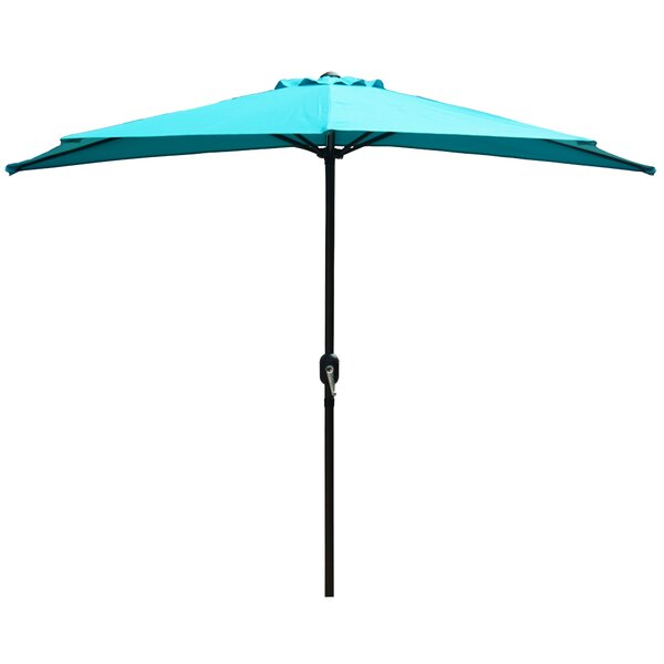 Alder 9' Outdoor Patio Market Umbrella By Charlton Home by Charlton Home Today Only Sale