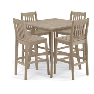 Laney 5 Piece Bar Height Dining Set By Breakwater Bay