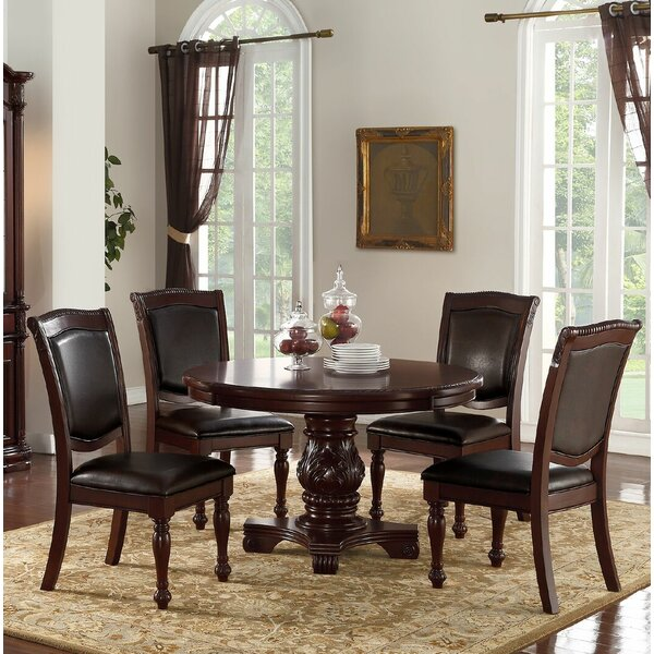 Kaneshiro 5 Piece Dining Set by Alcott Hill