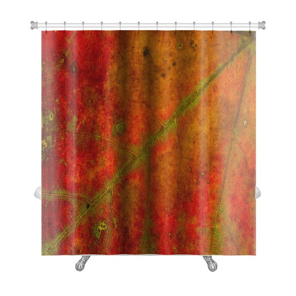 Gamma Structure of An Autumn Leaf Premium Shower Curtain by Gear New