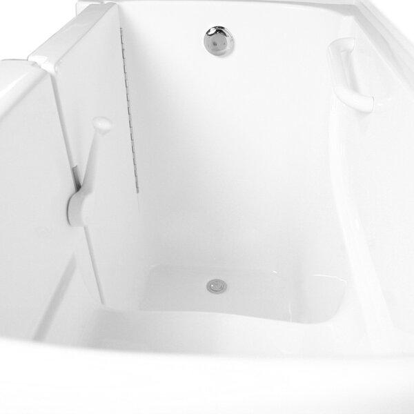 54 x 30 Dual Air and Whirlpool Bathtub by Ariel Bath